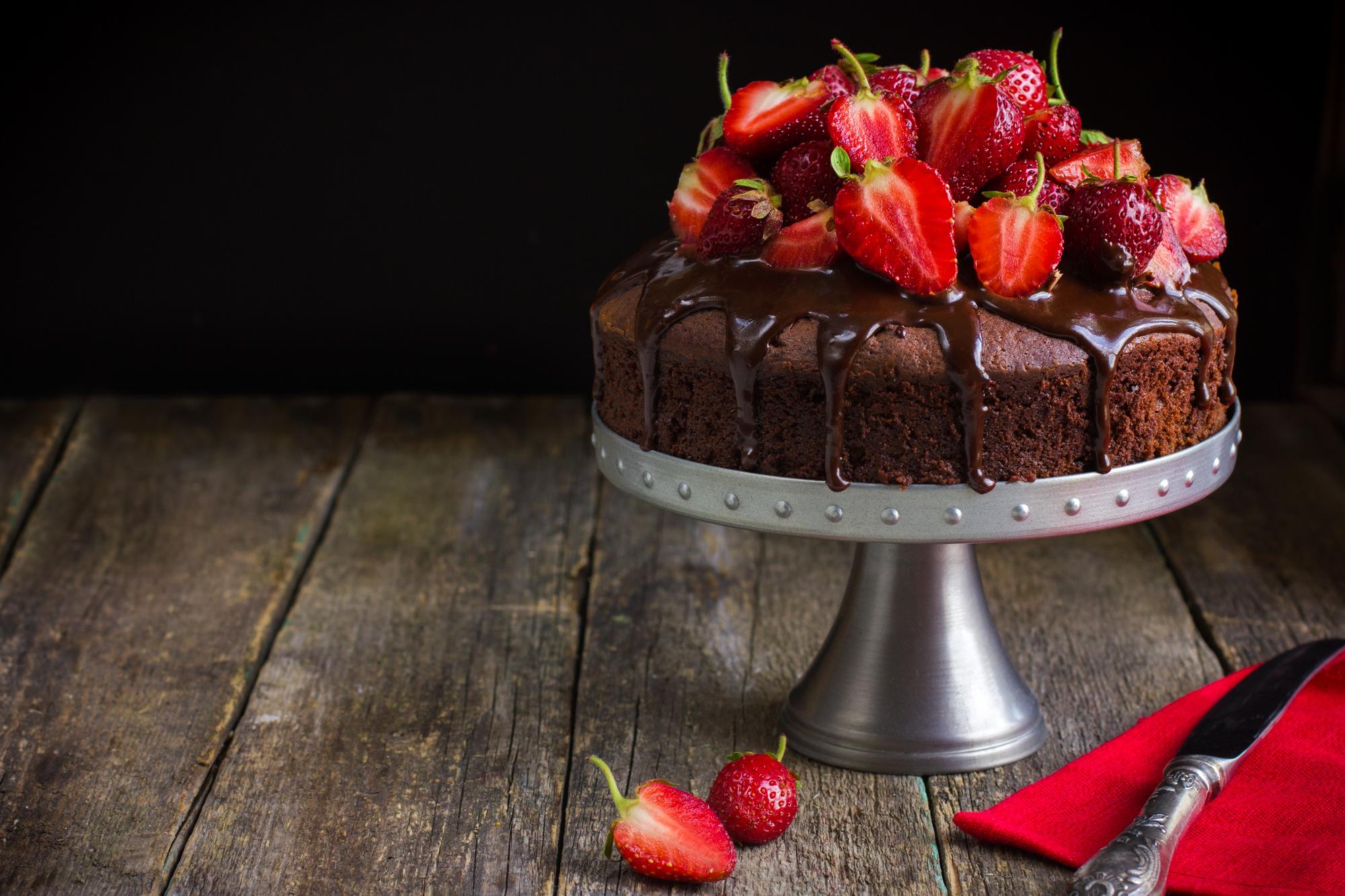 Healthy treats chocolate cake