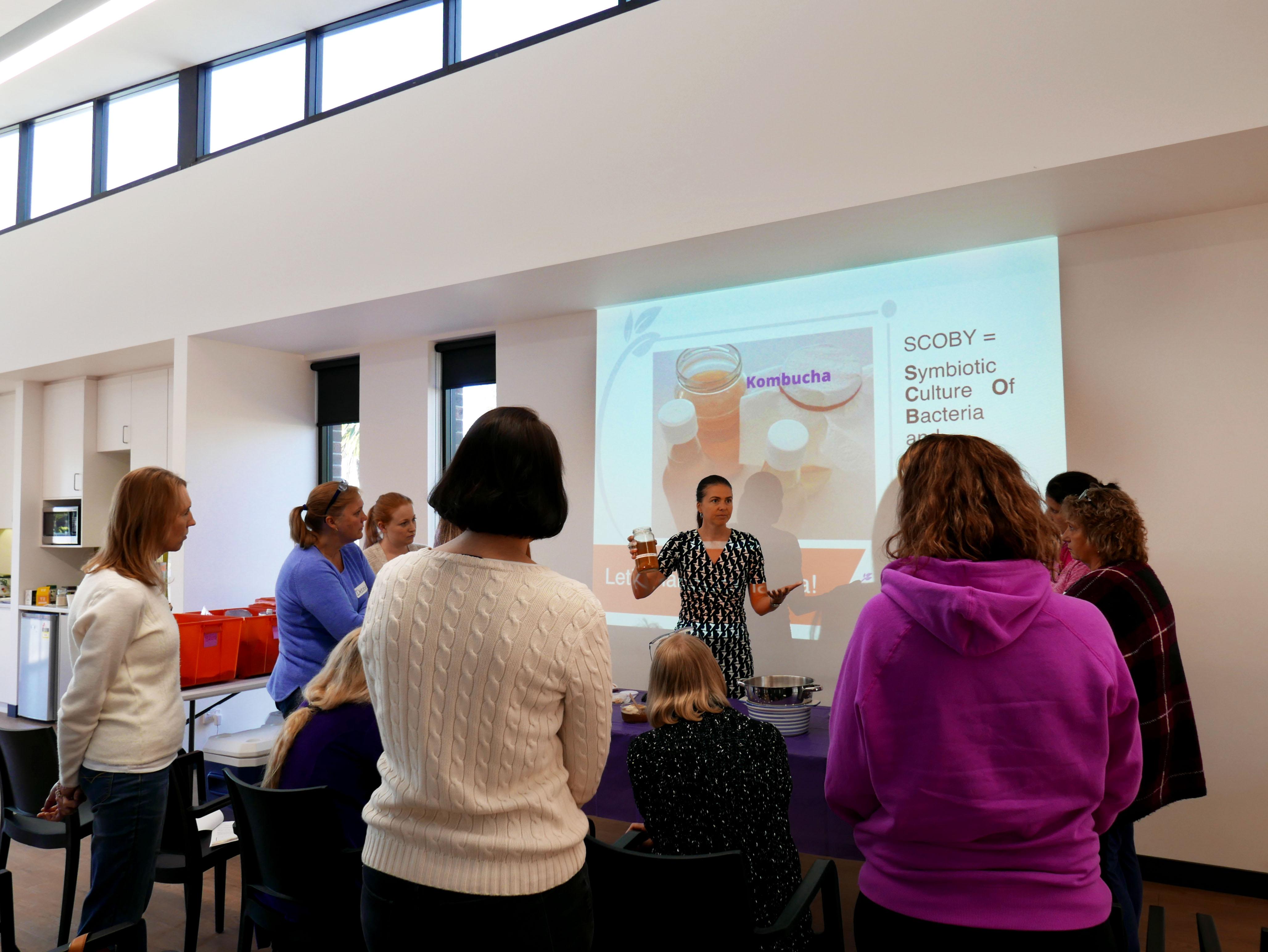 Kombucha SCOBY workshop