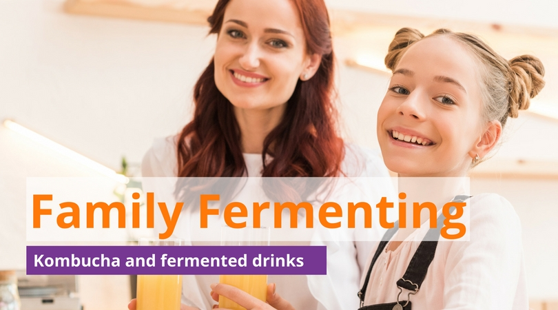 Family friendly fermenting kombucha castle hill workshop