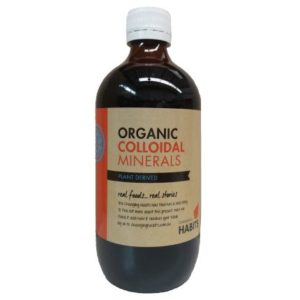 Organic Colloidal Minerals Sydney Australia Changing Habits