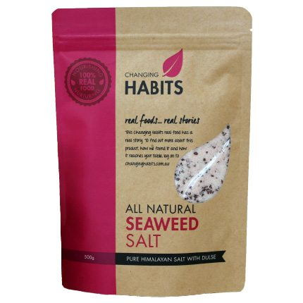 Sydney Stockist Changing Habits Seaweed Salt