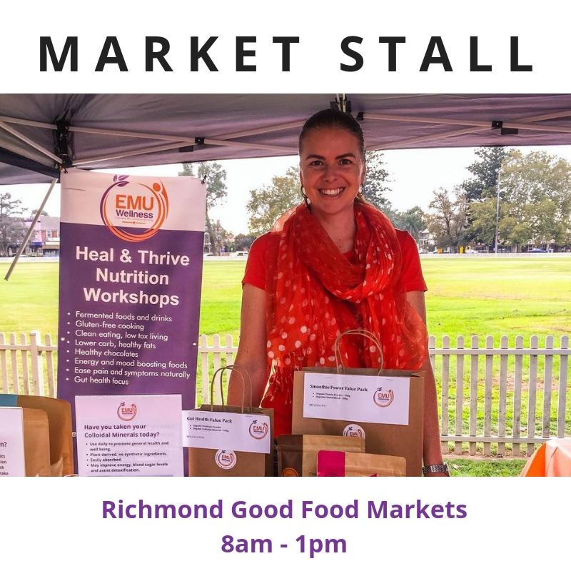 Emu Calendar.Calendar Event Richmond Good Food Market Stall Emu Wellness